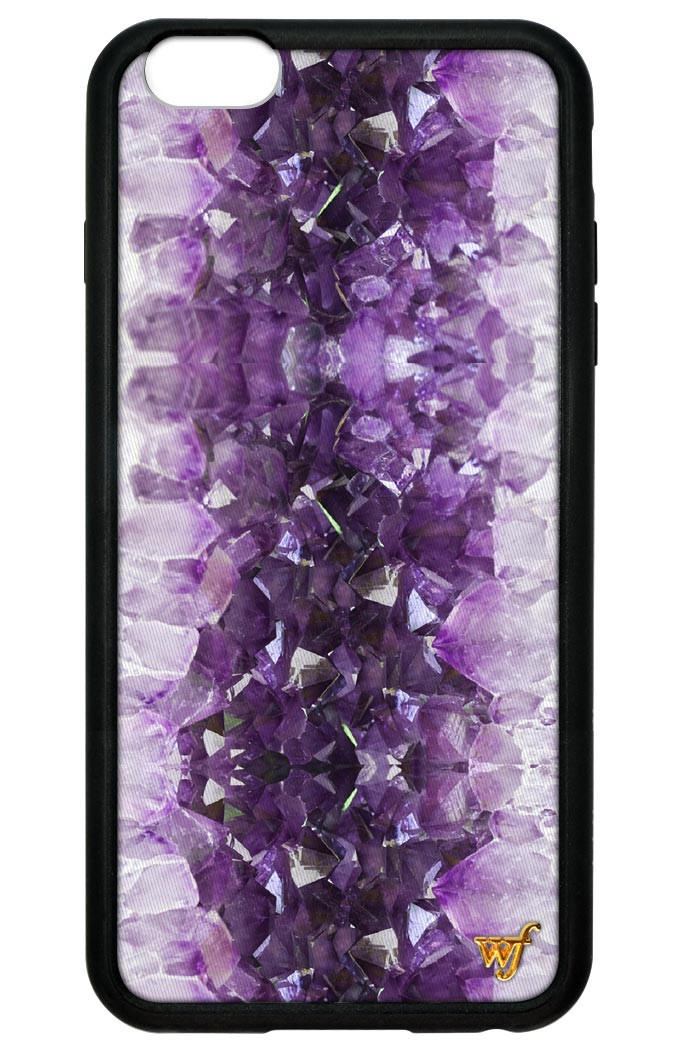 Amethyst Iphone Plus Case Wildflower Cases