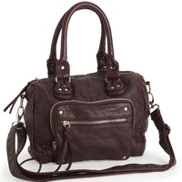 Faux Leather Duffel Bag - Aeropostale