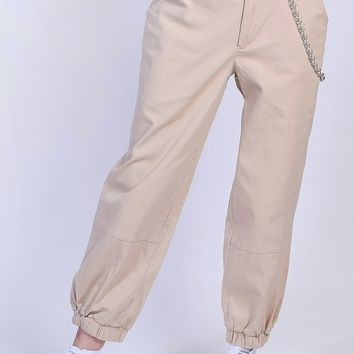 Chain Gang Khaki Pants