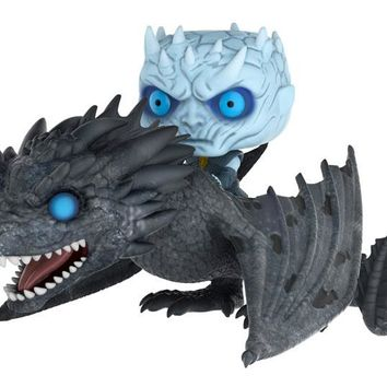 POP! RIDES: GAME OF THRONES - THE NIGHT KING ON VISERION