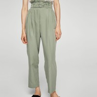 Ring modal trousers