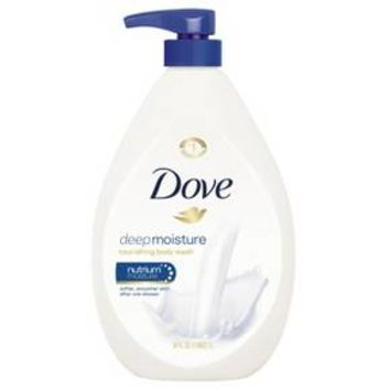 Dove Deep Moisture Body Wash with Pump - 34 oz
