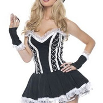 Atomic Black Assiduous French Maid Costume
