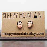 Steve Buscemi Earrings - Sleepy Mountain Studs