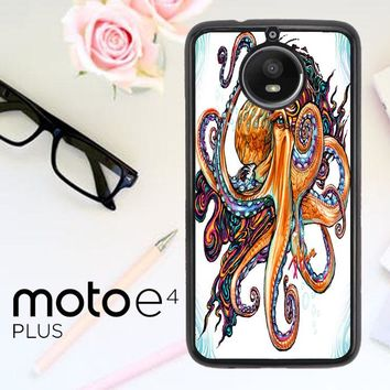 Octopus Ink V1619 Motorola Moto E4 Plus Case