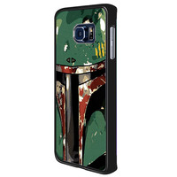 Star Wars Boba Fett fffc6ca2-047b-45f1-a5c4-646e5646f11b for Samsung Galaxy S6 Edge Plus Case *RA*