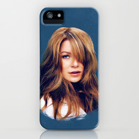 Greys Anatomy: Ellen Pompeo iPhone & iPod Case by drmedusagrey