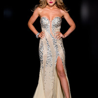 Sequin Jasz Couture Prom Gown 4925