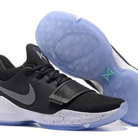 Nike Zoom Paul George   PG 1  Black Basketball Shoes