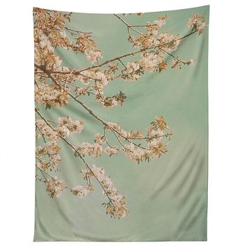 Happee Monkee Plum Blossoms Tapestry