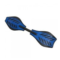 COOLGO Willow Leafs Shape Ripstik Skateboard Blue,ship from US