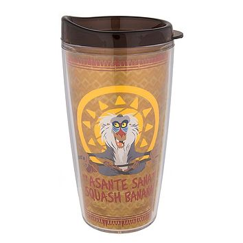 Disney Animal Kingdom The Lion King Rafiki Travel Tumbler 12 oz New