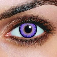Amazon.com: iColor Complete Contact Lenses - Violet: Health & Personal Care