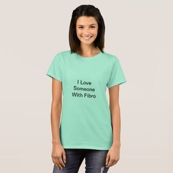 Mint Green Fibro Awareness TShirt