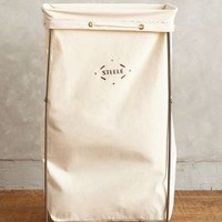 Tall Canvas Hamper by Steele Canvas
