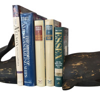 Decorative Whale Bookends