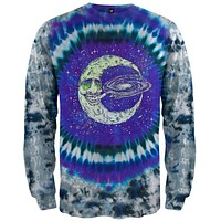 Happy Moon - Tie Dye Long Sleeve T-Shirt