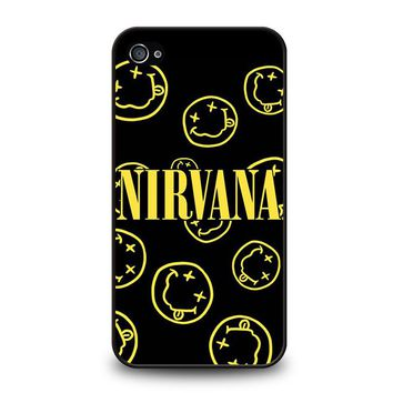 NIRVANA SMILEY COLLAGE iPhone 4 / 4S Case Cover