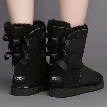 2018 Original UGG : Women Trending Fashion Wool Snow Boots