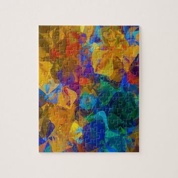 Deep Abstract Pattern Jigsaw Puzzle