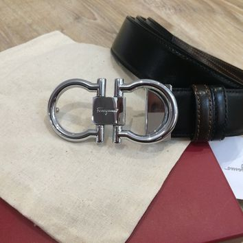 Salvatore Ferragamo double Gancio buckle