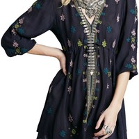 Free People 'Star Gazer' Embroidered Tunic Dress | Nordstrom