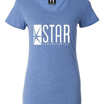Womens Star Labs Tri-Blend T-shirt