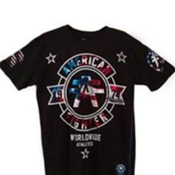 American Fighter Silver Lake Patriot T-Shirt for Men FM1572