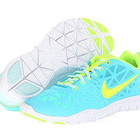 Nike Free TR Fit 3 Gamma Blue/Teal Tint/Mineral Teal/Volt - Zappos.com Free Shipping BOTH Ways