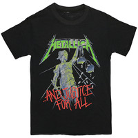 Metallica And Justice For All Shirt 1988   WyCo Vintage