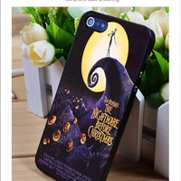 Nightmare before Christmas iPhone for 4 5 5c 6 Plus Case, Samsung Galaxy for S3 S4 S5 Note 3 4 Case, iPod for 4 5 Case, HtC One for M7 M8