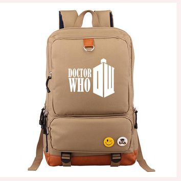 University College Backpack New Doctor Who School Student Work eaca331209191