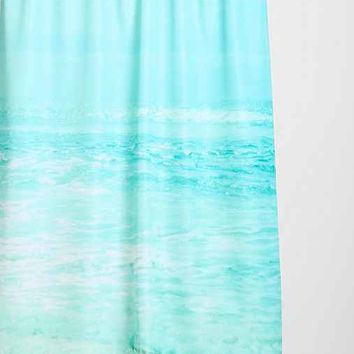 Lisa Argyropoulos For DENY Where Ocean Meets Sky Shower Curtain- Blue One