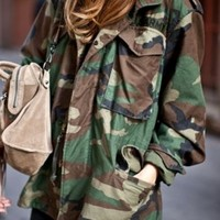 Extra Small Camo Jacket from Basiques Boutique