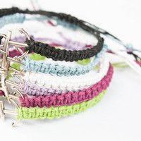 Anchor Hemp Friendship Bracelet
