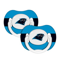 NFL Carolina Panthers Baby Fanatic Pacifiers (2-Pack)