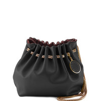 Noma Soft Shoulder Bucket Bag, Black - Stella McCartney
