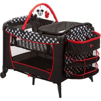 Disney Baby Mickey Mouse Play Yard Mickey Silhouette - PY378CLV