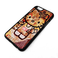 OBEY HELLO KITTY iPhone 4/4S 5/5S 5C 6 6 Plus Case Cover