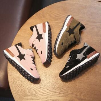 2018 spring child sport shoes female male child running shoes boy girls slip-resistant casual sneakers baby brand boots
