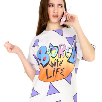BORED WITH LIFE TEE