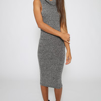 Faith Dress - Charcoal