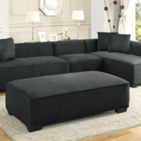 Metropolitan Modular Sectional - 3 Piece Configuration