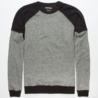 Rvca Promzer Mens Sweatshirt Grey/Black  In Sizes