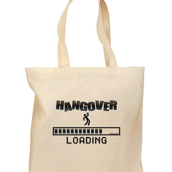 Hangover Loading Grocery Tote Bag