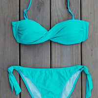 In a Twist Bikini - Jade