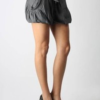 pocketed tie waist bubble shorts $32.20 in BLACK CHAR - New Bottoms | GoJane.com
