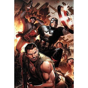 Secret Warriors #17 - Limited Edition Giclee on Stretched Canvas by Jim Cheung and Marvel Comics