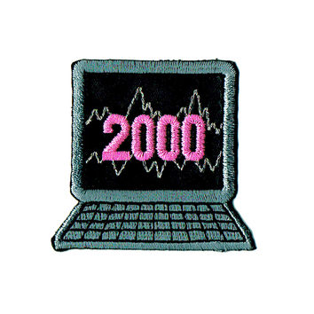 2000 Computer Screen Patch