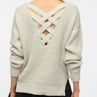 Crisscross Back Sweater